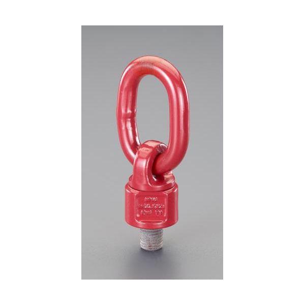 【個人宅配送不可】 エスコEA987GK-15 直送 代引不可・他メーカー同梱不可 3.15ton/M24x30mm スイベル吊り環 EA987GK15