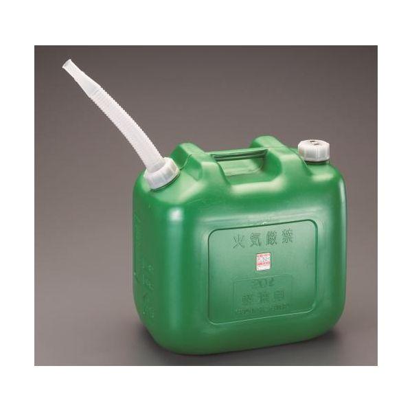 【個人宅配送不可】EA991HA-12 直送 代引不可・他メーカー同梱不可 20L ポリ軽油缶 4個 EA991HA12