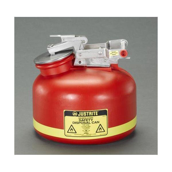 【個人宅配送不可】EA991JF-1 直送 代引不可・他メーカー同梱不可 7.5L/2ガロン 廃油缶 EA991JF1