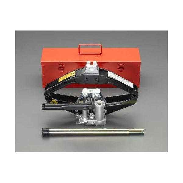 【個人宅配送不可】EA993LA-20 直送 代引不可・他メーカー同梱不可 1.0ton/121-381mm パンタグラフジャッキ 油圧式 EA993LA20