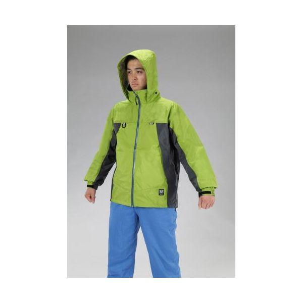 【個人宅配送不可】 エスコEA996CE-2 直送 代引不可・他メーカー同梱不可 L 全天候型ジャケット ミントグリーン EA996CE2
