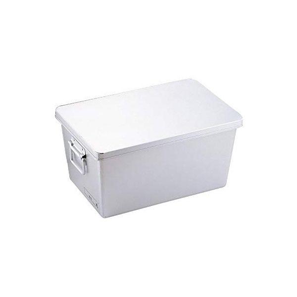 4702650800202 オオイ金属 アルマイト パン箱浅型 蓋付 260