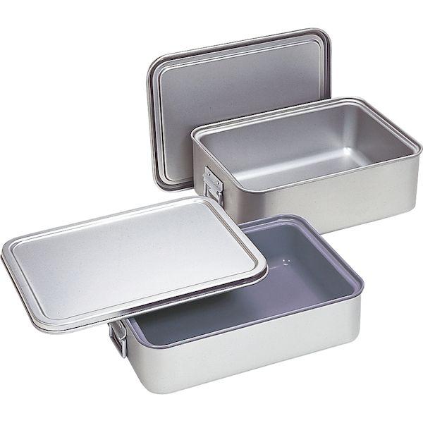 4702929500109 オオイ金属 角型二重米飯缶20Lアルミ 264-A