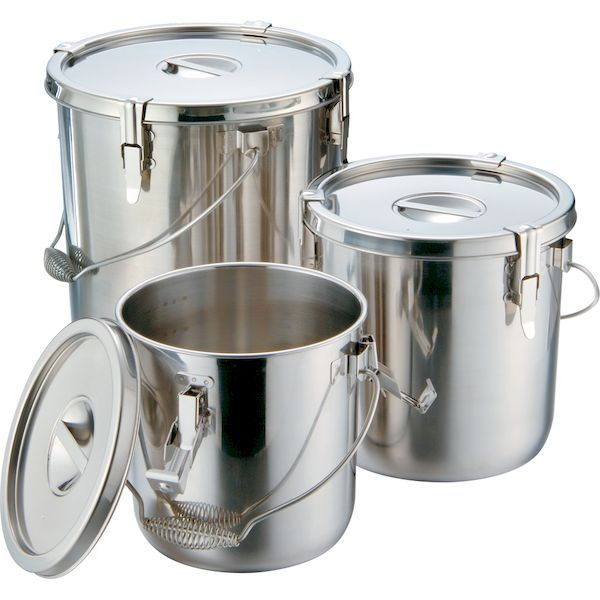 4967151007684 エムテートリマツ MT18-8テーパー汁食缶3ヶ所クリップ付 21cm