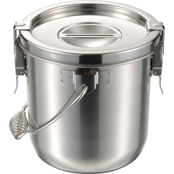 4967151103126 エムテートリマツ MT18-8テーパー汁食缶2ヶ所クリップ付 24cm