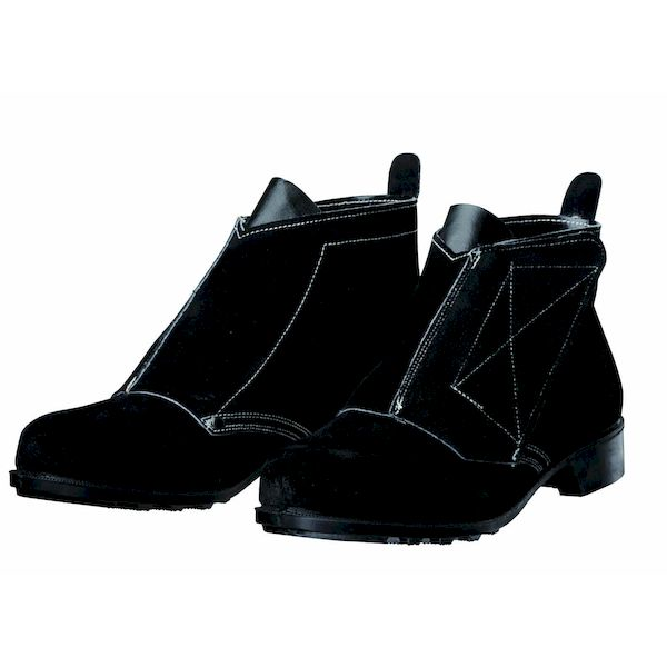 【個数:1個】ディアドラ DIADORA 4979058006493 直送 代引不可・他メーカー同梱不可 安全靴 耐熱・熔接用 ベロア マジック式 T-2 ブラック 29.0