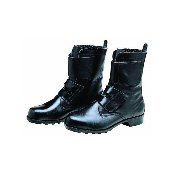 【個数:1個】ディアドラ DIADORA 4979058023391 直送 代引不可・他メーカー同梱不可 安全靴 ワークブーツ マジック ラバー1層底 耐滑 654 ブラック 24.5