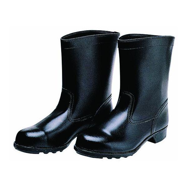 【個数:1個】ディアドラ DIADORA 4979058031655 直送 代引不可・他メーカー同梱不可 安全靴 耐薬品・耐油用 ブーツ 906 ブラック 25.0