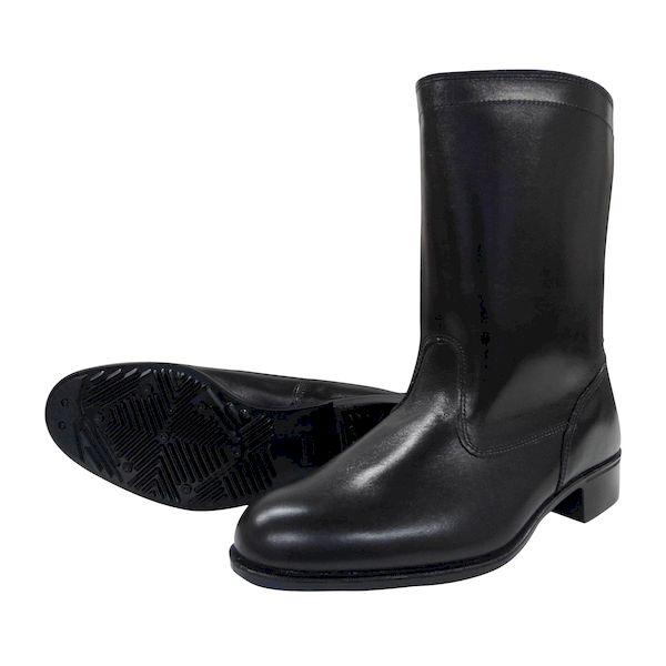 【個数:1個】ディアドラ DIADORA 4979058279996 直送 代引不可・他メーカー同梱不可 作業靴 半長靴 ラバー1層底 耐滑 安全靴ではありません 306 ブラック 25.5