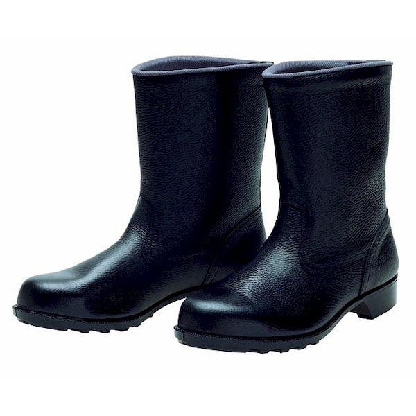 【個数:1個】ディアドラ DIADORA 4979058290243 直送 代引不可・他メーカー同梱不可 安全靴 半長靴 ラバー1層底 耐滑 606 ブラック 29.0