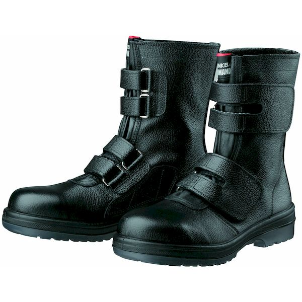 【個数:1個】ディアドラ DIADORA 4979058780560 直送 代引不可・他メーカー同梱不可 安全靴 ワークブーツ マジック式 ラバー2層底 耐滑 R2-54 ブラック 25.5