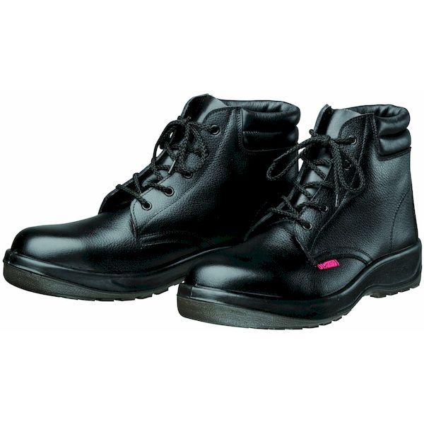【個数:1個】ディアドラ DIADORA 4979058804679 直送 代引不可・他メーカー同梱不可 Dynasty 安全靴 ミドルカット PU二層底 耐滑 衝撃吸収 D7003 ブラック 29.0