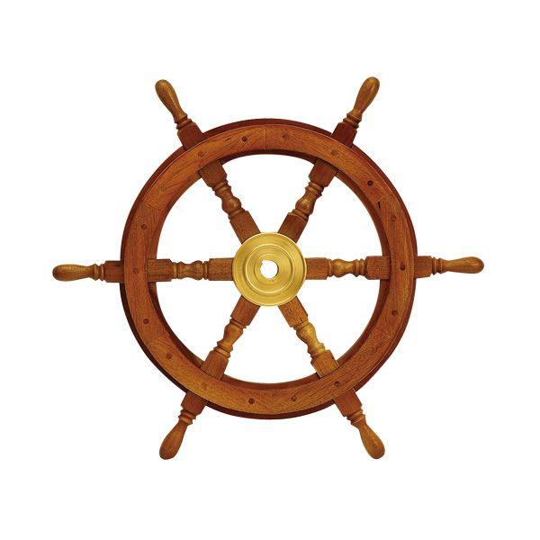 ゴーリキアイランド 690020 真鍮製舵輪 船のハンドル 金色 24型 真鍮 船舶 舵 ハンドル インテリア雑貨 アンティーク レトロ 北欧