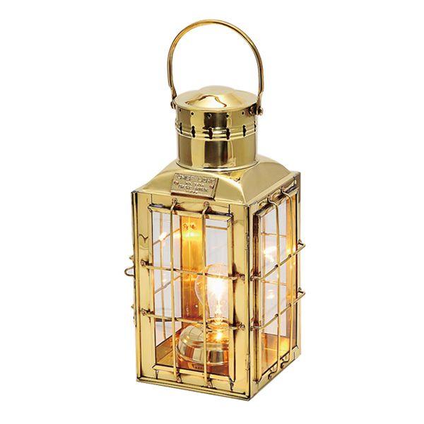 ゴーリキアイランド 700013 真鍮製マリンランプ風 真鍮製電気スタンド 室内用 金色 チーフライト 真鍮 ランプ 高級 アンティーク レトロ 北欧