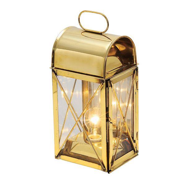 ゴーリキアイランド 700019 真鍮製マリンランプ風 真鍮製電気スタンド 室内用 金色 キャビンライト 真鍮 ランプ 高級 アンティーク レトロ 北欧