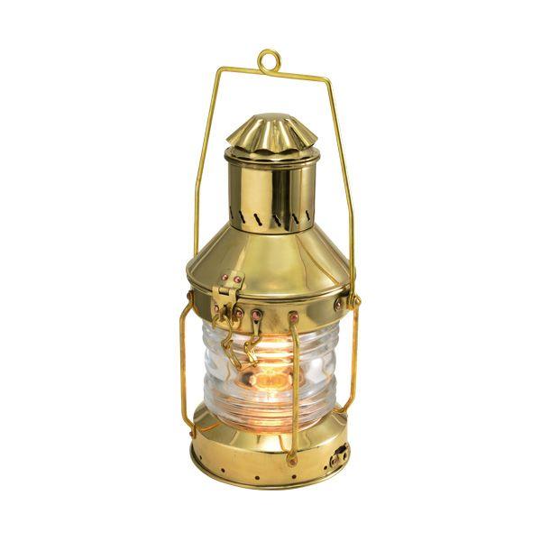 ゴーリキアイランド 700021 真鍮製マリンランプ風 真鍮製電気スタンド 防滴仕様 金色 アンカーライトSP 真鍮 ランプ 高級 アンティーク レトロ 北欧