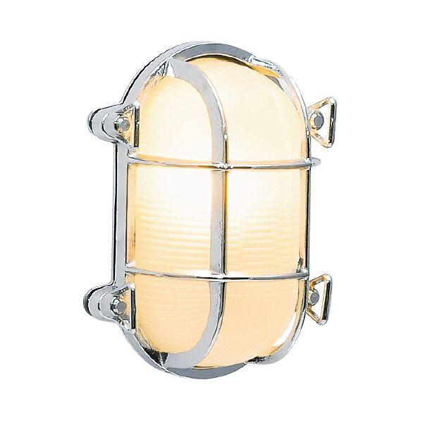 ゴーリキアイランド 700223 真鍮製ウォールライト クリアガラス&LEDランプ BH2036 CL LE 銀色 真鍮 エクステリア ポーチライト アンティーク