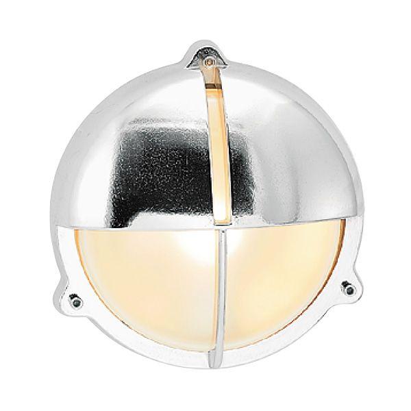 ゴーリキアイランド 700297 真鍮製ウォールライト くもりガラス&LEDランプ BH2428 FR LE 銀色 真鍮 エクステリア ポーチライト アンティーク