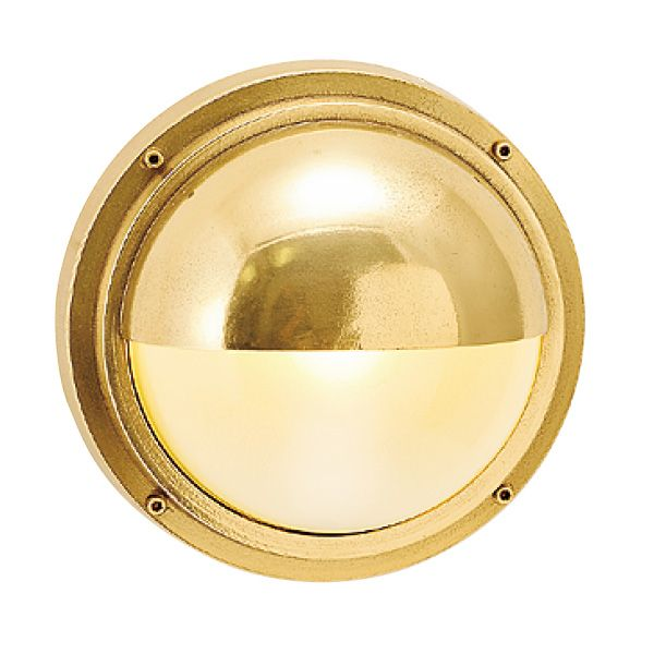 ゴーリキアイランド 700299 真鍮製ウォールライト くもりガラス&LEDランプ BH2225 FR LE 金色 真鍮 エクステリア ポーチライト アンティーク