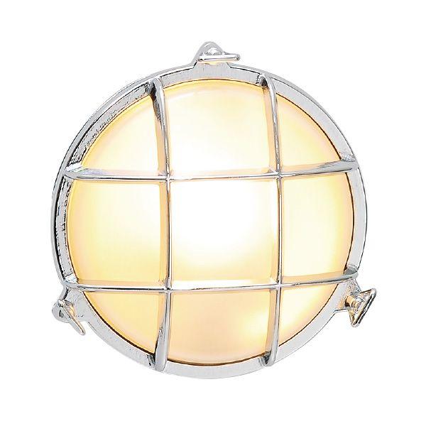 ゴーリキアイランド 700309 真鍮製ウォールライト くもりガラス&LEDランプ BH2028 FR LE 銀色 真鍮 エクステリア ポーチライト アンティーク