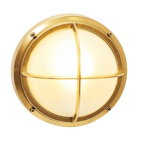 ゴーリキアイランド 700313 真鍮製ウォールライト くもりガラス&LEDランプ BH2226 FR LE 金色 真鍮 エクステリア ポーチライト アンティーク