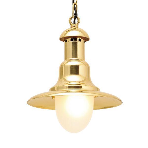 ゴーリキアイランド 700377 真鍮製ペンダントライト くもりガラス&LEDランプ P2162 FR LE 金色 真鍮 インテリアライト 天井照明 北欧