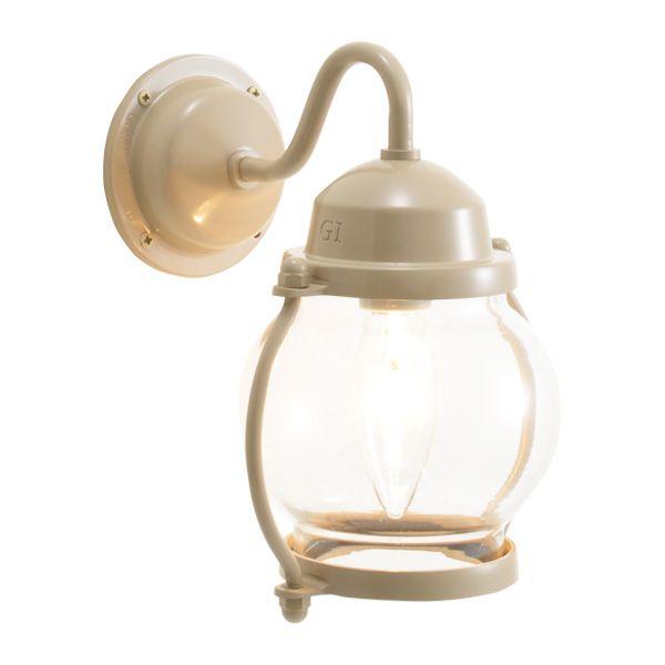 ゴーリキアイランド 700484 真鍮製ブラケットランプ クリアガラス&普通球 BR1700 CL アースグレイ ポーチライト アンティーク レトロ