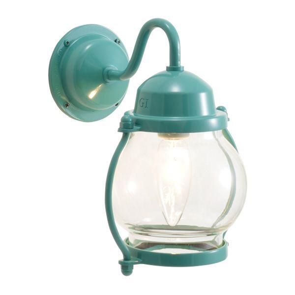 ゴーリキアイランド 700486 真鍮製ブラケットランプ クリアガラス&普通球 BR1700 CL メイグリーン ポーチライト アンティーク レトロ