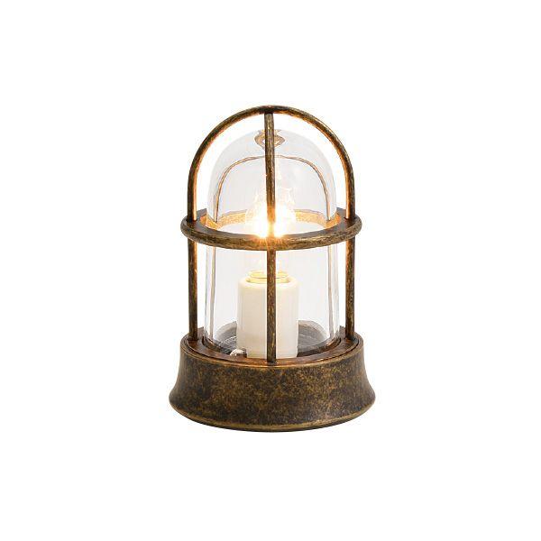 ゴーリキアイランド 700525 真鍮製マリンランプ クリアガラス&普通球 BH1000MINI CL 古色 ポーチライト アンティーク レトロ