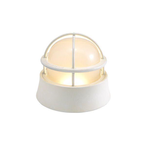 ゴーリキアイランド 700581 真鍮製マリンランプ くもりガラス&LEDランプ BH1000LOW FR LE 古白色 ポーチライト アンティーク レトロ