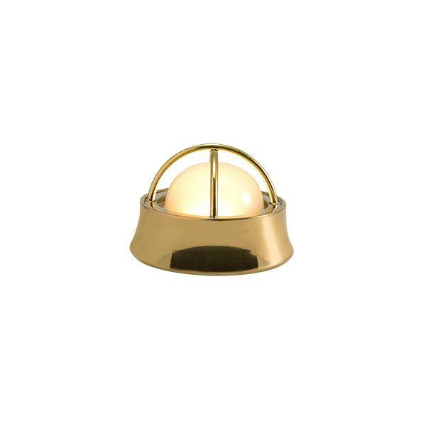 ゴーリキアイランド 700590 真鍮製マリンランプ くもりガラス&LEDランプ BH1000MINI LOW FR LE 室内用 金色 アンティーク レトロ