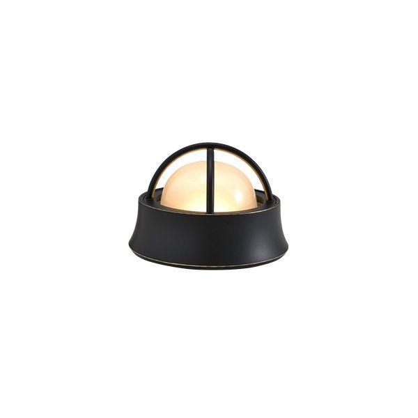 ゴーリキアイランド 700592 真鍮製マリンランプ くもりガラス&LEDランプ BH1000MINI LOW FR LE 室内用 黒色 アンティーク レトロ
