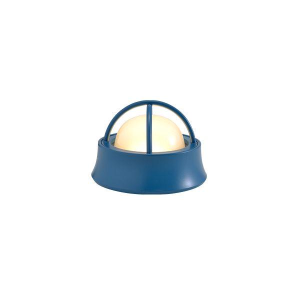 ゴーリキアイランド 700593 真鍮製マリンランプ くもりガラス&LEDランプ BH1000MINI LOW FR LE 室内用 パシフィックブルー アンティーク