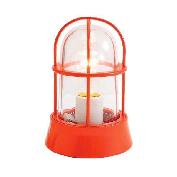 ゴーリキアイランド 750005 真鍮製マリンランプ クリアガラス&普通球 BH1000 CL オレンジ ポーチライト アンティーク レトロ