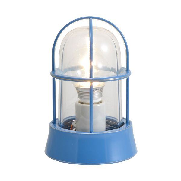 ゴーリキアイランド 750007 真鍮製マリンランプ クリアガラス&LEDランプ BH1000 CL LE パシフィックブルー ポーチライト アンティーク レトロ