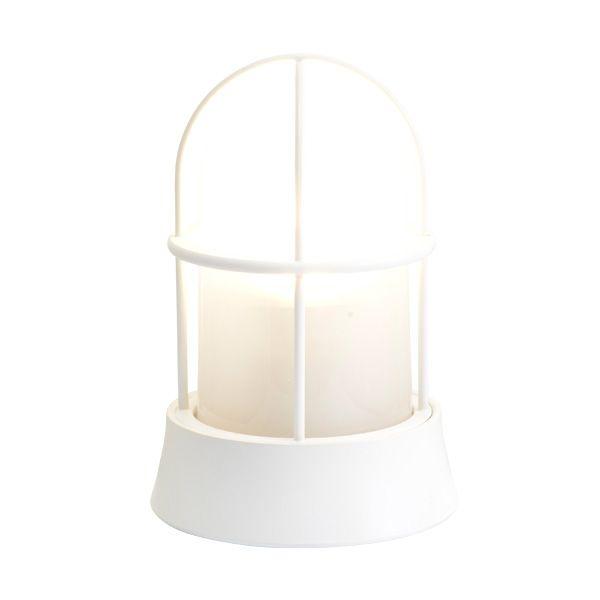 ゴーリキアイランド 750011 真鍮製マリンランプ くもりガラス&LEDランプ BH1000 FR LE 古白色 ポーチライト アンティーク レトロ