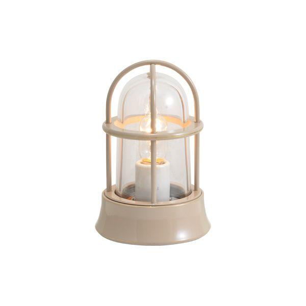 ゴーリキアイランド 750019 真鍮製マリンランプ クリアガラス&普通球 BH1000MINI CL アースグレイ ポーチライト アンティーク レトロ