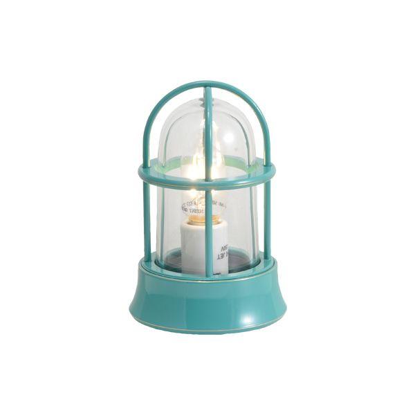 ゴーリキアイランド 750026 真鍮製マリンランプ クリアガラス&LEDランプ BH1000MINI CL LE メイグリーン ポーチライト アンティーク レトロ