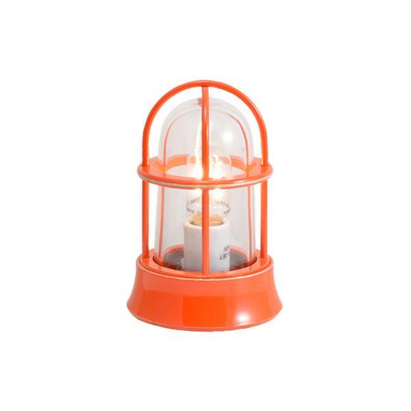 ゴーリキアイランド 750027 真鍮製マリンランプ クリアガラス&LEDランプ BH1000MINI CL LE オレンジ ポーチライト アンティーク レトロ