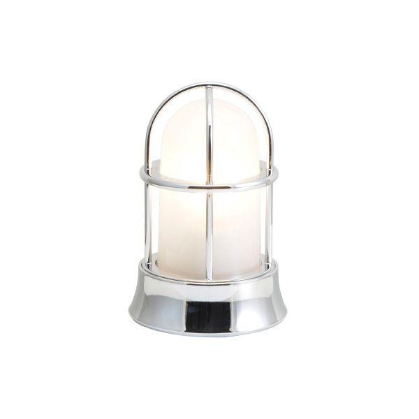 ゴーリキアイランド 750029 真鍮製マリンランプ くもりガラス&LEDランプ BH1000MINI FR LE 銀色 ポーチライト アンティーク レトロ
