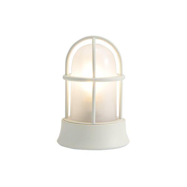 ゴーリキアイランド 750032 真鍮製マリンランプ くもりガラス&LEDランプ BH1000MINI FR LE 古白色 ポーチライト アンティーク レトロ