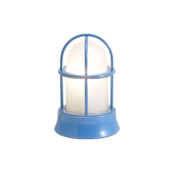ゴーリキアイランド 750033 真鍮製マリンランプ くもりガラス&LEDランプ BH1000MINI FR LE パシフィックブルー ポーチライト アンティーク