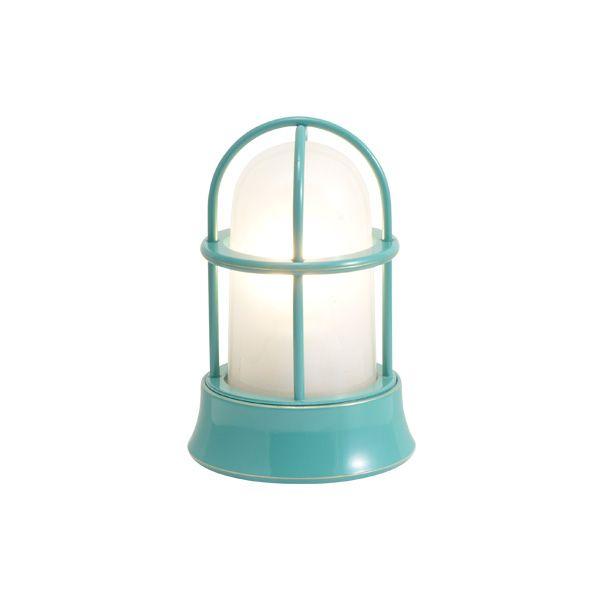 ゴーリキアイランド 750035 真鍮製マリンランプ くもりガラス&LEDランプ BH1000MINI FR LE メイグリーン ポーチライト アンティーク レトロ