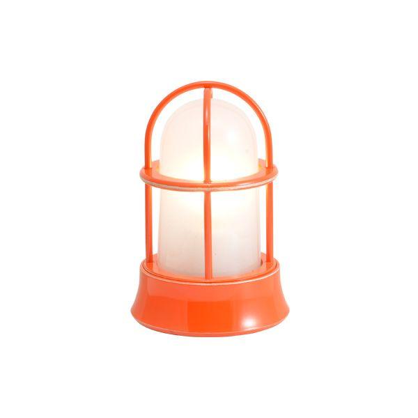 ゴーリキアイランド 750036 真鍮製マリンランプ くもりガラス&LEDランプ BH1000MINI FR LE オレンジ ポーチライト アンティーク レトロ