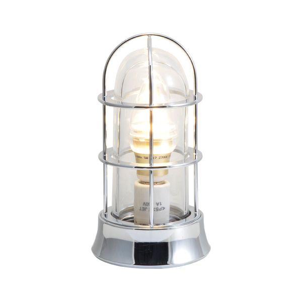 ゴーリキアイランド 750044 真鍮製マリンランプ クリアガラス&LEDランプ BH1000SLIM CL LE 銀色 ポーチライト アンティーク レトロ