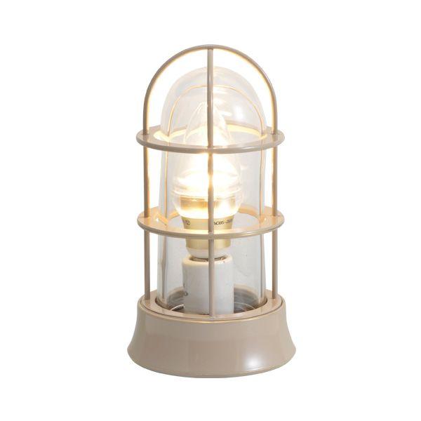 ゴーリキアイランド 750048 真鍮製マリンランプ クリアガラス&LEDランプ BH1000SLIM CL LE アースグレイ ポーチライト アンティーク レトロ