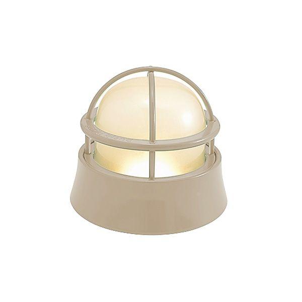 ゴーリキアイランド 750062 真鍮製マリンランプ くもりガラス&LEDランプ BH1000LOW FR LE アースグレイ ポーチライト アンティーク レトロ