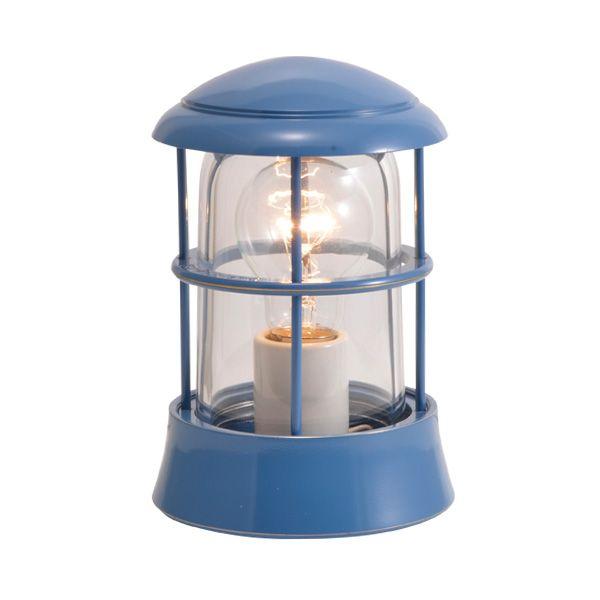 ゴーリキアイランド 750073 真鍮製マリンランプ クリアガラス&LED普通球 BH1010 CL パシフィックブルー ポーチライト アンティーク レトロ