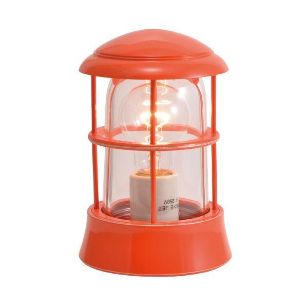 ゴーリキアイランド 750076 真鍮製マリンランプ クリアガラス&LED普通球 BH1010 CL オレンジ ポーチライト アンティーク レトロ