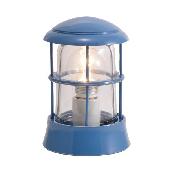 ゴーリキアイランド 750082 真鍮製マリンランプ クリアガラス&LEDランプ BH1010 CL LE パシフィックブルー ポーチライト アンティーク レトロ